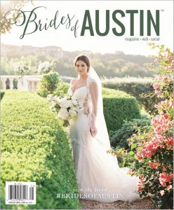 Brides of Austin Spring/Summer 2017 Magazine Cover