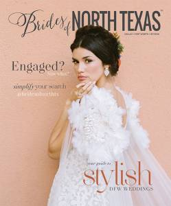 Brides of North Texas Spring/Summer 2020 Cover